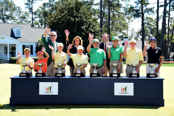 Paul Levy Drive, Chip and Putt Championship at Augusta National Golf Club