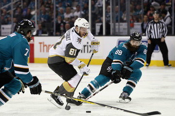 Paul Martin Vegas Golden Knights Vs. San Jose Sharks - Game Three