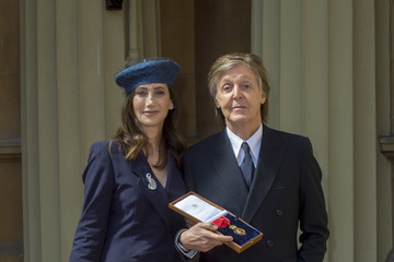 Paul McCartney Investitures At Buckingham Palace