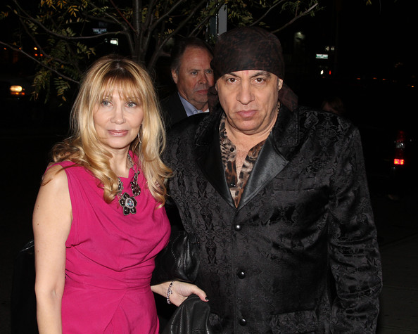 Steven Van Zandt with beautiful, Wife Maureen Van Zandt