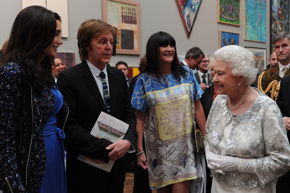 Paul McCartney - Queen Elizabeth II Visits The Royal Academy Of Arts