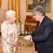 Paul Muldoon Investitures At Buckingham Palace
