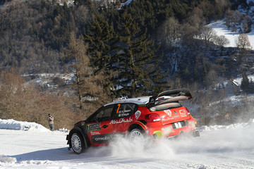 Paul Nagle FIA World Rally Championship Monte-Carlo -  Day Two
