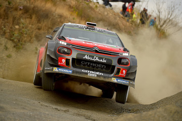 Paul Nagle FIA World Rally Championship Mexico - Day One