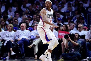 Paul Pierce Utah Jazz v Los Angeles Clippers - Game One