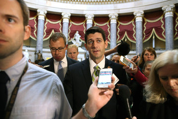 Paul Ryan Eric Cantor Defeated in Primary