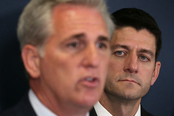 Paul Ryan Speaker Paul Ryan and House GOP Leadership Address the Media After Weekly Conference Meeting