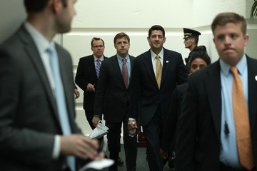 Paul Ryan House Republicans Hold Conference Meeting