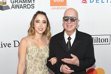 Paul Shaffer Victoria Lily Shaffer Grammy Salute To Industry Icons Honoring Jay-Z - Arrivals