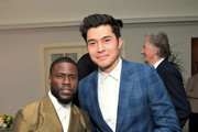 Kevin Hart and Henry Golding attend the Paul Smith Honors John Legend dinner on May 14, 2019 in Los Angeles, California.