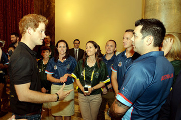 Paul Warren Prince Harry at the Invictus Games - Ottobock: Day 1