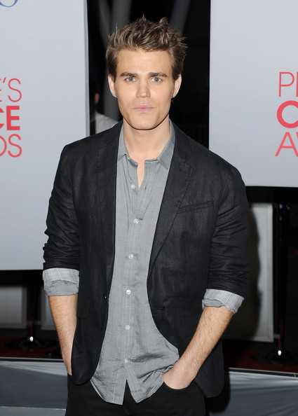 Paul Wesley - 2012 People's Choice Awards - Arrivals