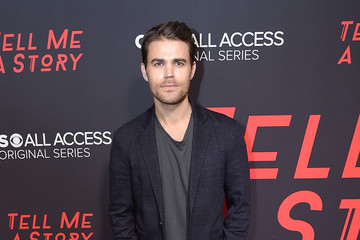 Paul Wesley CBS All Access' 'Tell Me A Story' New York Premiere