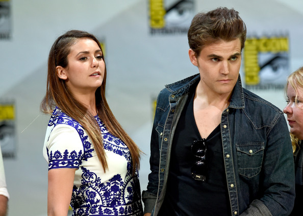 Nina Dobrev And Paul Wesley 2015