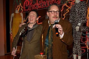 Paul Whitehouse Stella McCartney Christmas Light Switch On