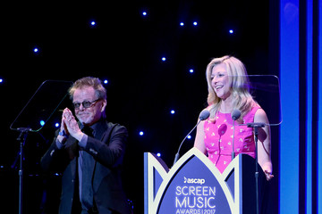 Paul Williams Elizabeth Matthews 2017 ASCAP Screen Music Awards - Inside