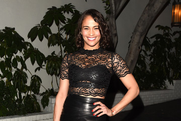 Paula Patton W Magazine Celebrates the 'Best Performances' Portfolio and the Golden Globes with Audi and Dom Perignon - Arrivals