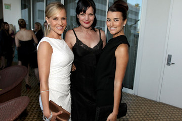 Pauley Perrette Cote de Pablo 2011 Women In Film Crystal + Lucy Awards