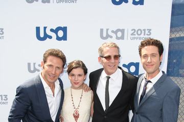 Paulo Costanzo Celebs at the USA Upfront Event in NYC
