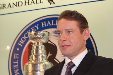 Pavel Bure 2012 Hockey Hall Of Fame Induction - Photo Opportunity