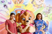 Imogen Thomas and Michelle Heaton (R) attend the Gala screening of Paw Patrol Mighty Pups at Cineworld Leicester Square on May 12, 2019 in London, England.