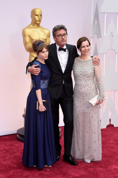 Arrivals at the 87th Annual Academy Awards — Part 3 [red carpet,carpet,gown,dress,clothing,formal wear,flooring,fashion,event,suit,arrivals,pawel pawlikowski,agata kulesza,agata trzebuchowska,l-r,hollywood highland center,california,87th annual academy awards]