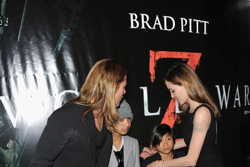 Pax Jolie-pitt World War Z - World Premiere - Inside Arrivals