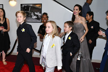 Pax Thien Jolie-Pitt 'First They Killed My Father' New York Premiere