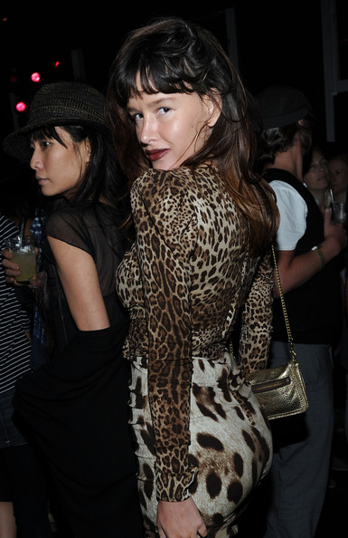 "Paz de la Huerta - Maroon 5's ""Hands All Over"" Album Release Party"