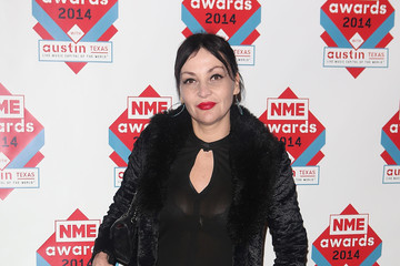 Pearl Lowe Red Carpet Arrivals at the NME Awards