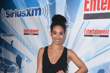 Pearl Mackie SiriusXM's Entertainment Weekly Radio Channel Broadcasts From Comic Con 2017 - Day 3