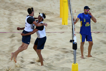 Pedro Cunha Olympics Day 7 - Beach Volleyball