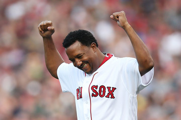 Pedro Martinez Los Angeles Angels of Anaheim v Boston Red Sox
