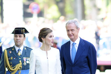 Pedro Morenes Spanish Royals Attend Armed Forces Day 2015