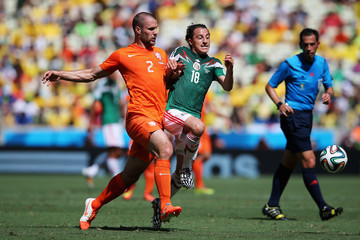 Pedro Proenca Netherlands v Mexico: Round of 16 - 2014 FIFA World Cup Brazil