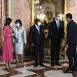 Pedro Sanchez Spanish Royals Host A Lunch With The President Of Angola