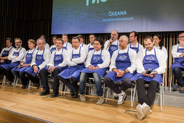 Pedro Subijana 'Save the Oceans: Feed the World' Event
