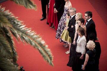 Penelope Wilton Ruby Barnhill 'The BFG' - Red Carpet Arrivals - The 69th Annual Cannes Film Festival