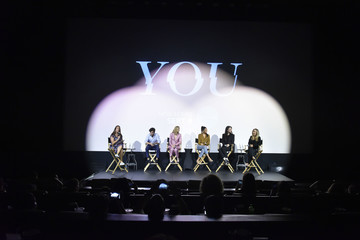 Penn Badgley Shay Mitchell Screening Of Lifetime's 'You' Series Premiere