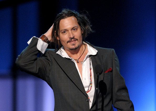 johnny depp movies 2010. Actor Johnny Depp accepts the