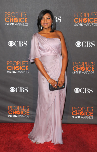 Taraji P. Henson Actress Taraji P. Henson arrives at the People's Choice Awards 2010 held at Nokia Theatre L.A. Live on January 6, 2010 in Los Angeles, California.