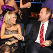 She met Hugh Laurie at the People's Choice Awards.