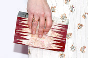 Actress Candace Cameron Bure, ring, purse, and manicure details, attends the People's Choice Awards 2017 at Microsoft Theater on January 18, 2017 in Los Angeles, California.