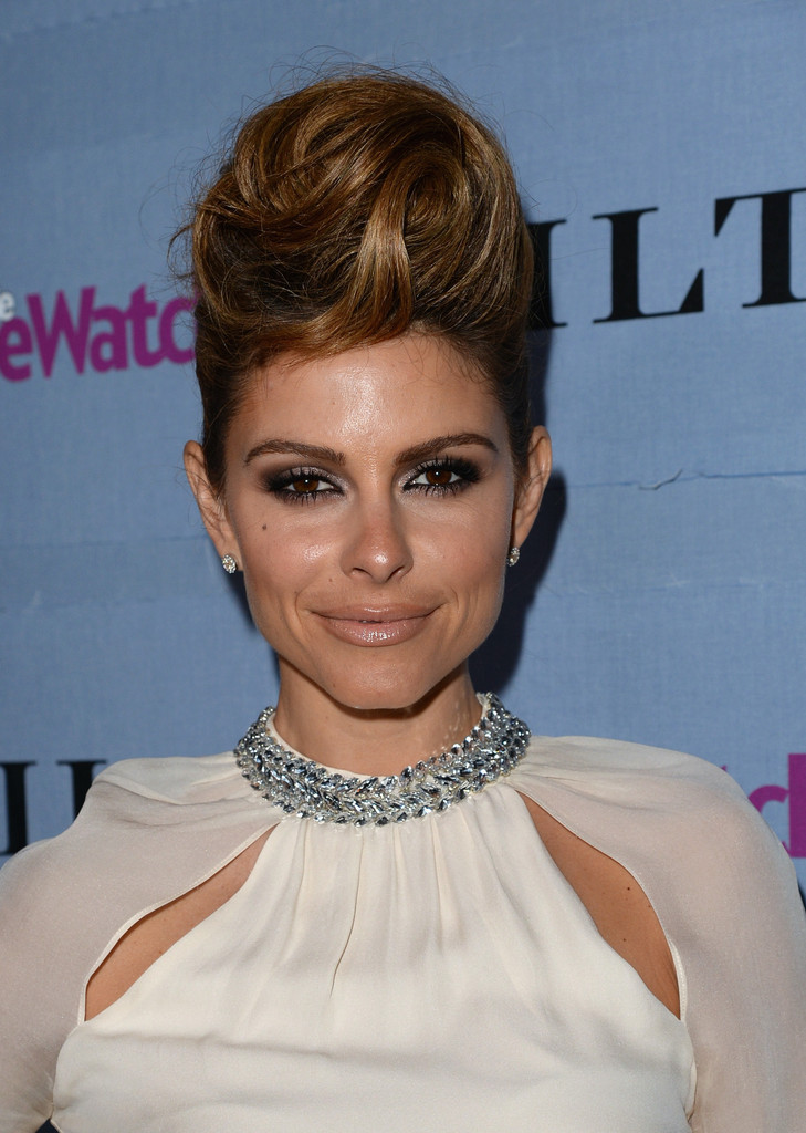 Love It or Loathe It: Maria Menounos' Twisted Pompadour