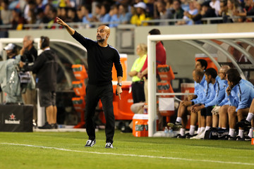 Pep Guardiola Manchester City vs. Borussia Dortmund - International Champions Cup 2018