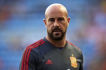 Pepe Reina Spain v Switzerland - International Friendly