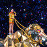 Katy Perry Photos - Recording artist Katy Perry performs onstage during the Pepsi Super Bowl XLIX Halftime Show at University of Phoenix Stadium on February 1, 2015 in Glendale, Arizona. - Pepsi Super Bowl XLIX Halftime Show