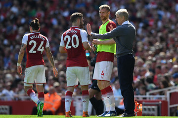 Per Mertesacker Arsenal vs. West Ham United - Premier League