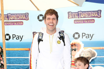 Perez Hilton Mia Alma Lavandeira Columbia Pictures And Sony Pictures Animation's World Premiere Of 'Hotel Transylvania 3: Summer Vacation' - Arrivals