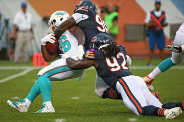 Pernell McPhee Miami Dolphins v Chicago Bears